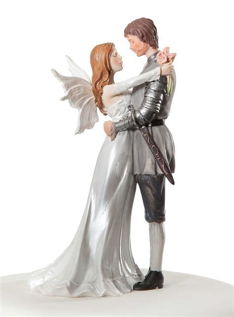 Fantasy Fairy Wedding Cake Topper   Wedding Collectibles
