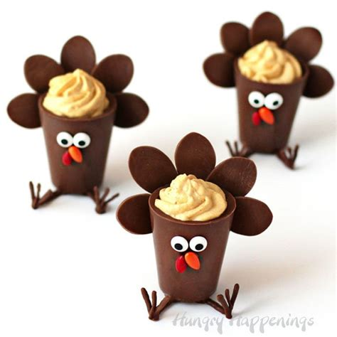Come With Me Classic Thanksgiving Ae The Look by Chocolate Turkey Cups Filled With Pumpkin Cheesecake Mousse