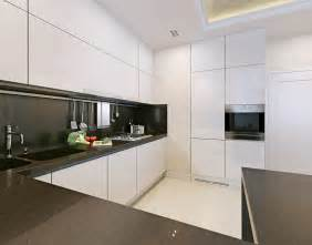 Small Black And White Kitchen Ideas by 17 Small Kitchen Design Ideas Designing Idea