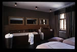 chambre ouverte sur salle de bain d 233 coration salle de bain ouverte sur chambre