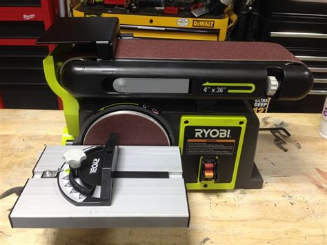 diy bench sander ryobi bench sander bd4601 tools in action