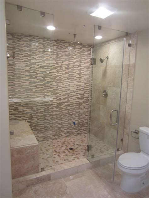glass enclosed shower san diego frameless enclosure patriot glass and mirror