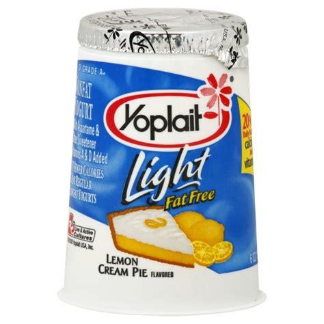 yoplait light thick and creamy yoplait light yogurt lemon cream pie fat free