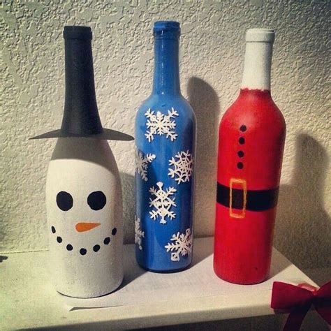 my wine bottle crafts craft time pinterest