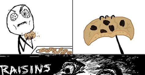 Raisin Face Meme - i like raisin cookies but hate the surprise when of finding out i was duped funny pinterest