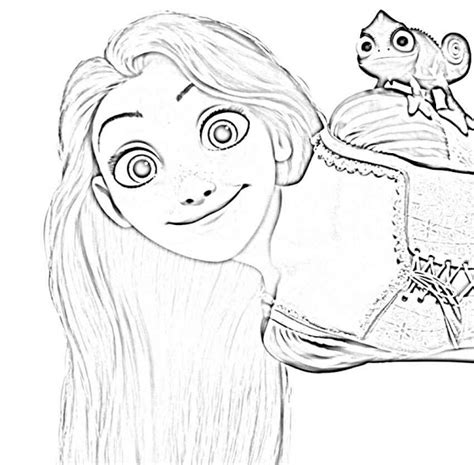 Disney Baby Rapunzel Coloring Pages Colorings Net Baby Rapunzel Coloring Pages