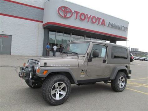 2005 Jeep Wrangler Unlimited For Sale Used 2005 Jeep Wrangler Unlimited Rubicon 4x4 For