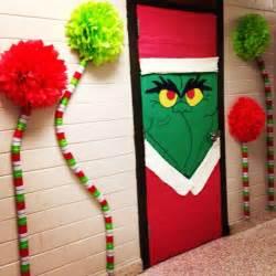 diy door decoration for christmas cathy