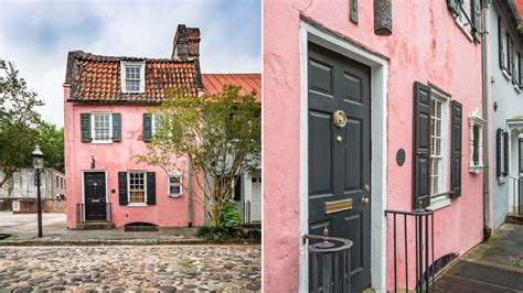 the pink house charleston the oldest home in charleston is for sale see inside