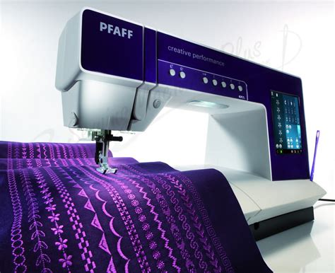 Pfaff Quilting Machines by Pfaff Creative Performance Sewing Quilting And Embroidery