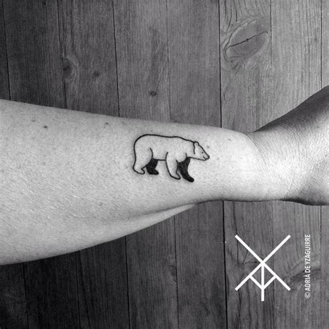 small bear tattoo best 25 small geometric ideas on