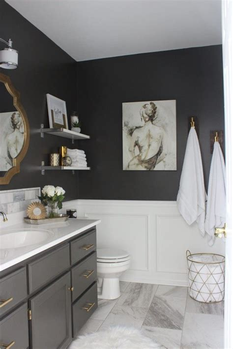 Grey And White Bathroom Decor by Best 25 Gray Bathroom Ideas On