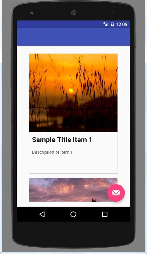 Android Cardview by Android Cardview And Recyclerview Exle