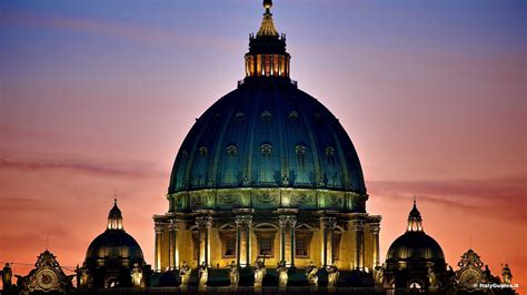 St Peters Cupola Pictures Of St Peter S Basilica Rome Italy