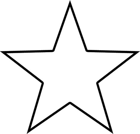 star outline tattoo shape collage shapes