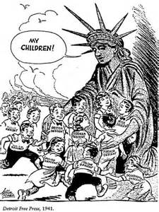 Political cartoons on immigration newhairstylesformen2014 com