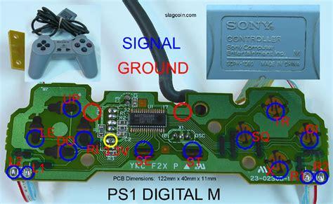 Pcb Original Stik Ps3 Om playstation cable colours tech talk shoryuken forums