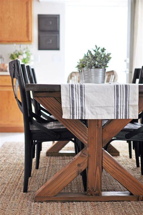 diy woodworking plans farmhouse table