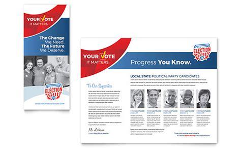 indielove biz political brochure template