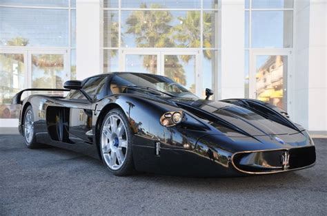 Black Maserati Maserati Mc12 In Black Offered Up For Sale