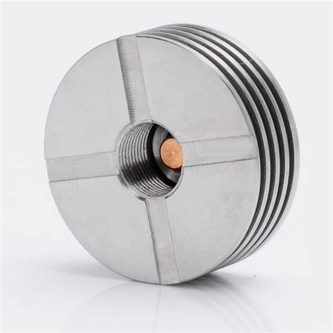 heat sink metal v2 510 heat dissipation silver ss heat sink for atomizers