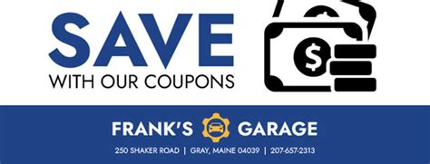 auto repair tire shop  gray  franks garage