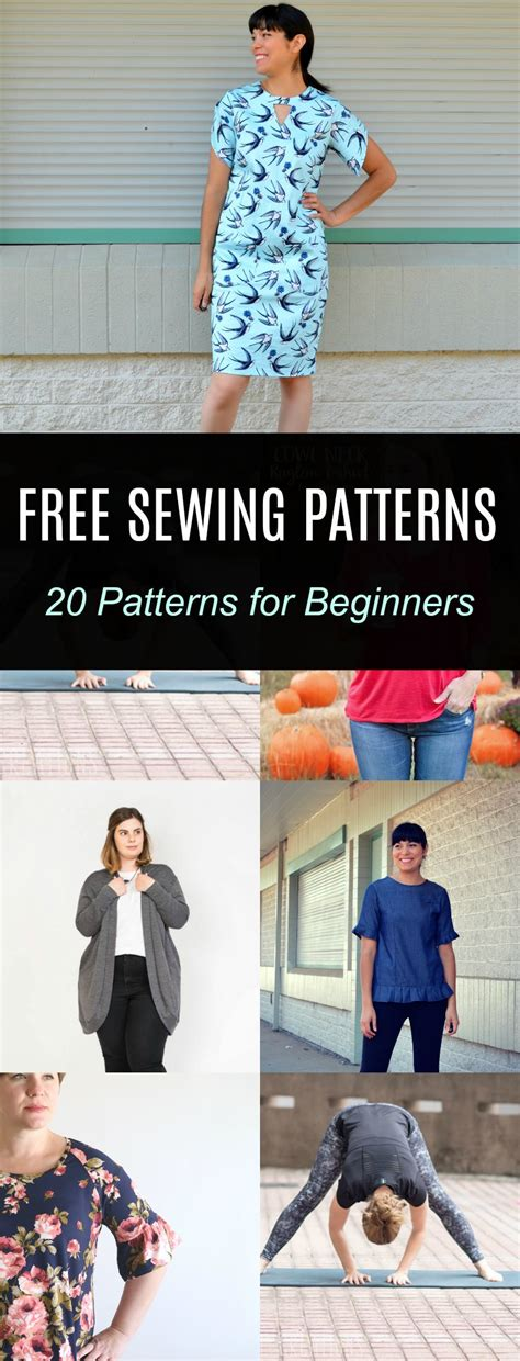 free sewing patterns and tutorials on the cutting floor free pattern alert 20 sewing patterns for beginners on