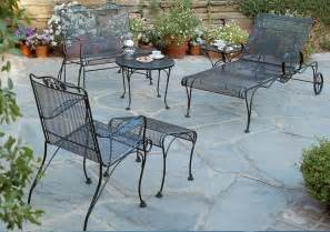 black wrought iron patio furniture home design