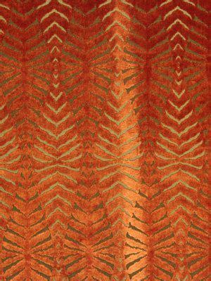 orange velvet sofa fabric orange cut velvet fabric modern animal upholstery
