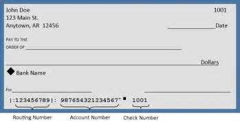 Bank Check Template by Carroll Electric Ebilling And Automatic Bank Draft