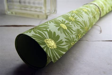 Handmade Paper India - tree free handmade papers made in india green and gold