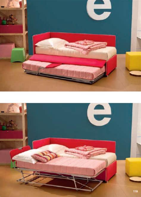 letti singoli con secondo letto estraibile letti con secondo letto estraibile per gli ospiti