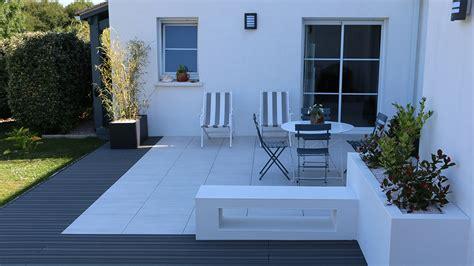 terrasse design nivrem terrasse design bois carrelage diverses