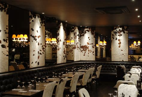 Inside Decor And Design gaucho s argentinean restaurant piccadilly london