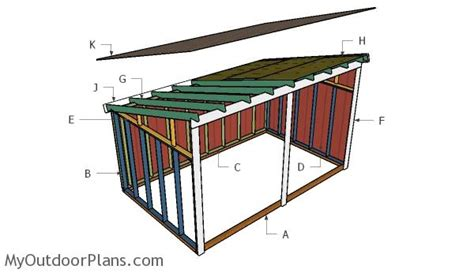 Run In Shed Plans Free free run in shed plans myoutdoorplans free woodworking
