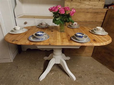 beautiful shabby chic kitchen table hd9f17 tjihome beautiful shabby chic pine drop leaf table painted in