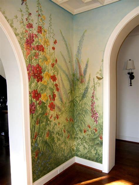 foyer mural foyer garden mural corner murals