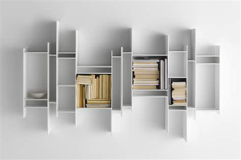 Mdf Italia Random Bookcase Etag 232 Re Randomito L 81 X H 96 Cm Laqu 233 Blanc Mdf Italia
