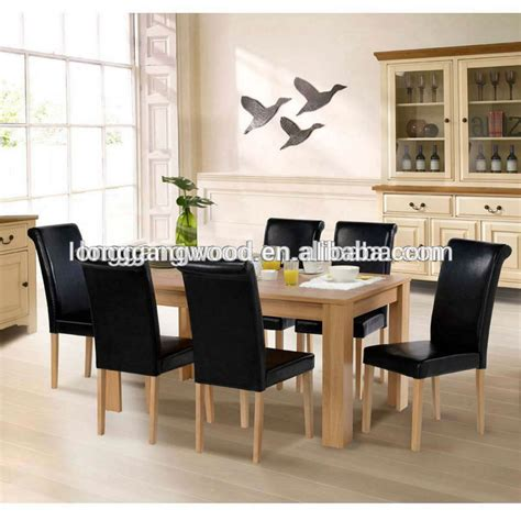 2015 new design wooden dining table and chair dining chair