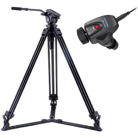 Tripod Prosumer acebil j 805gx prosumer tripod system with rmc l1avr lens zoom controller j 805gpk l1avr