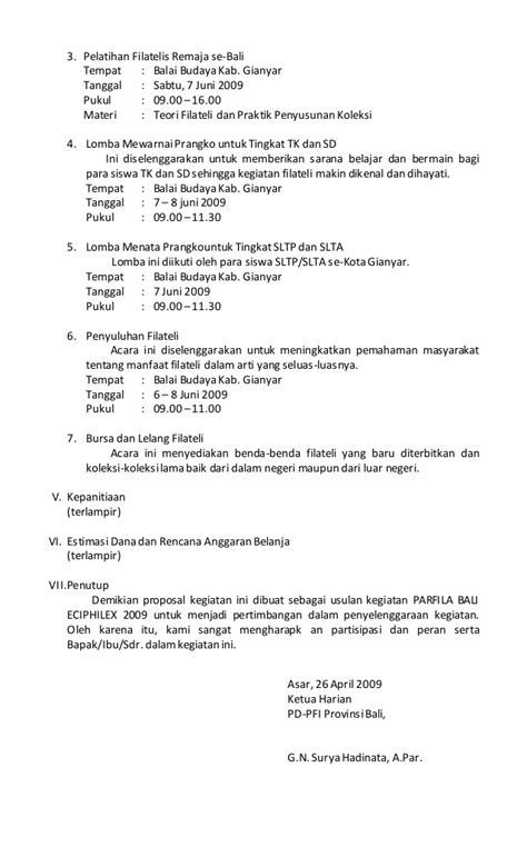 membuat proposal lomba menulis menulis proposal