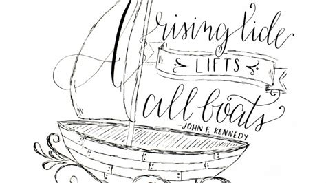 a rising tide lifts all boats me a rising tide lifts all boats skillshare projects