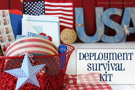 gift ideas for soldiers deployment survival kit gift idea doodles