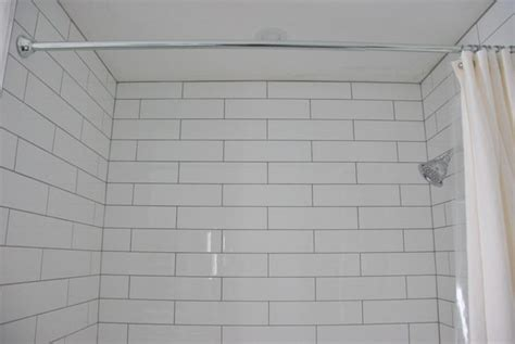 Easy Bathroom Backsplash Ideas shower design with subway tile and marble tile niche the