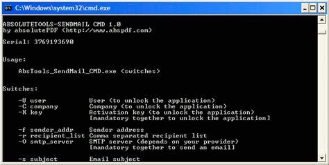 reset admin password vista cmd activex absolutetools sendmail cmd shareware