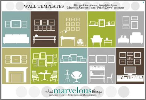 photo wall collage template pin by muise bonnette on home
