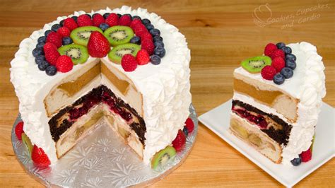 cherpumple triple layer pie in a cake
