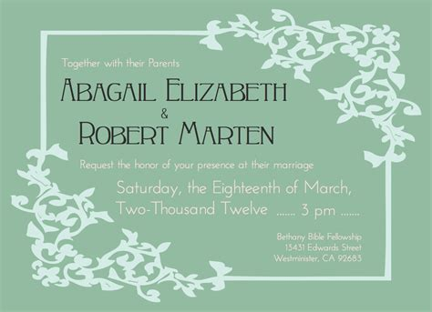 nice wedding invites free samples images gallery wedding
