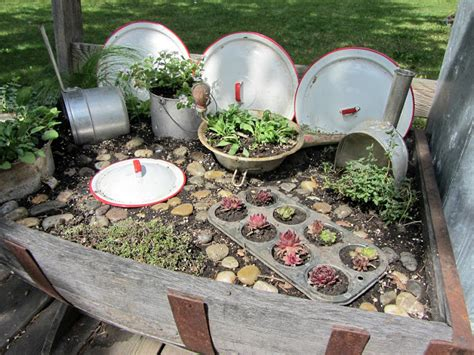 Backyard Junk by Organized Clutter Junk Gardening