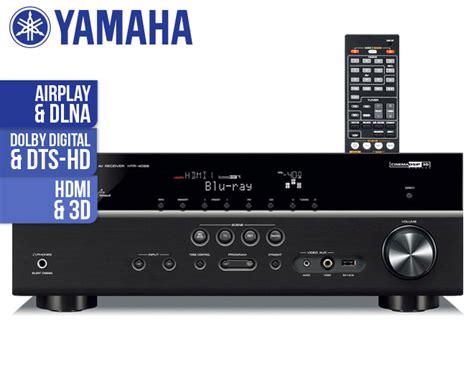 yamaha htr   channel network av receiver scoopon